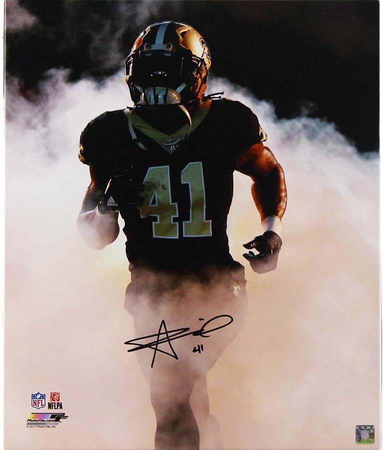 It is very popular Alvin Kamara Autographed Signed New Orleans Saints Columbus Mall Str NFL 20x24