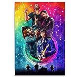 Maroon 5 (Adam Levine) Couleur Concert Album Photo Art Affiche Mur Art Salon Chambre décoration Impression sur toile-50x70cm sans Cadre