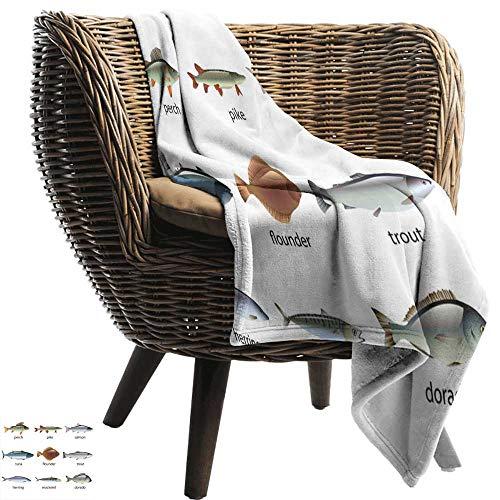 ZSUO baby maandelijks mijlpaal deken Vis, Grijs en Rood Koi Weergegeven in Dipping Motion Abstract Illustratie van Aquarium Bleke Grijs Rood Blauw Gezellig en Duurzaam Stof-Machine Wasbaar