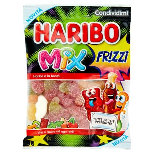 Mix frizzi Haribo - party feste candy - confezione da 175 gr Caramelle Gommose Morbide