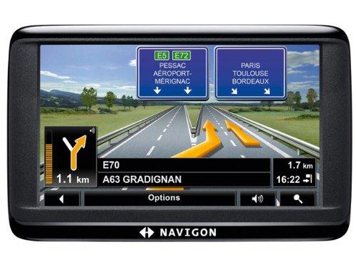 Navigon 40 Easy Navigationssystem (Kontinent-Ausschnitt)