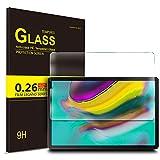 IVSO Bildschirmschutz für Samsung Galaxy Tab S5e T720/T725 10.5, 9H Festigkeit, 2.5D, Bildschirmfolie Schutzglas Bildschirmschutz Für Samsung Galaxy Tab S5e 10.5 T720/T725 10.5 Zoll Release, (1 x)