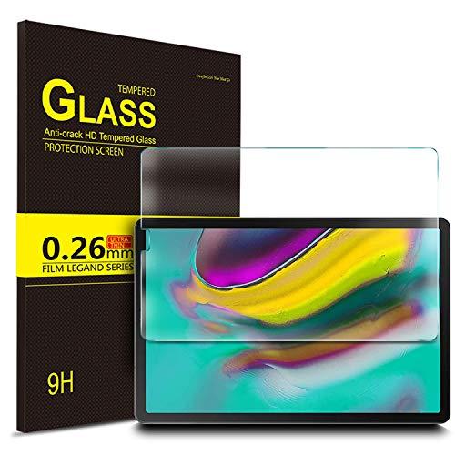 IVSO Displayschutz für Samsung Galaxy Tab S5e T720/T725 10.5, 9H Härte, 2.5D, Displayfolie Schutzglas Displayschutz Für Samsung Galaxy Tab S5e 10.5 T720/T725 10.5 Zoll Release, (1 x)