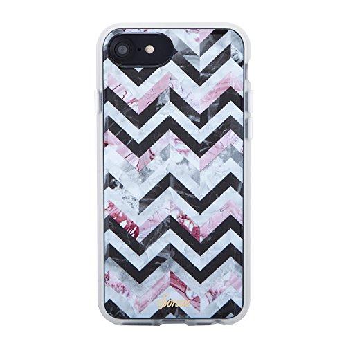iPhone 8, 7, 6, Sonix City mattonelle del telefono/schermo in vetro temperato, Military Drop test certificata–Clear Coat Series Bundle e protezione schermo per Apple iPhone 6, 6S, 7, 8
