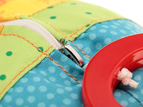 sigikid, Mädchen, Spieluhr, Stofftier Hase Rainbow Rabbit, Rot/Mehrfarbig, 40577 - 7