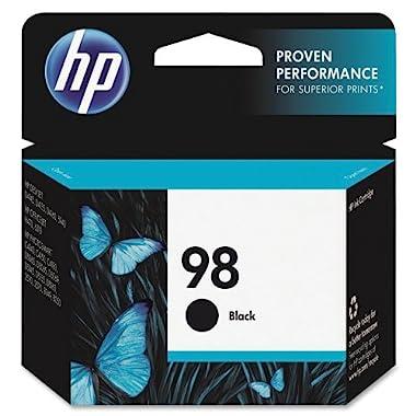 HP 98 Black Original Ink Cartridge (C9364WN) for HP Deskjet 6940 6988 HP Officejet 100 150 H470 HP Photosmart 2575 C4150 C4180 8049 8050