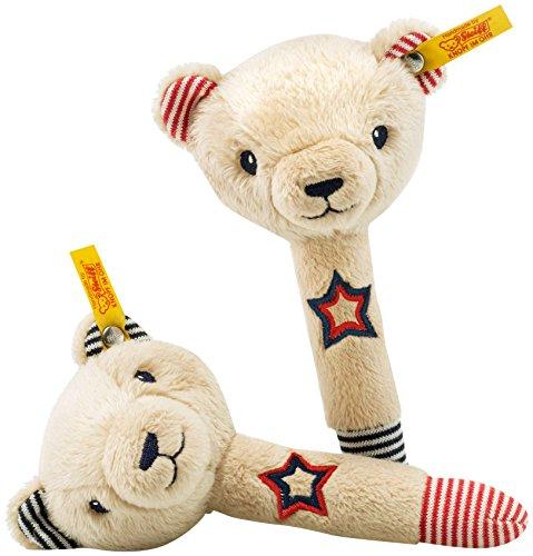 Steiff - 241185 - Teddy Bear Band Set d'ours Teddy Crécelles Niklie