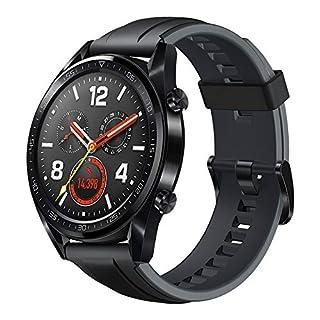 "HUAWEI Watch GT (2018) GPS, Bluetooth Smartwatch, 1.39"" AMOLED, HR Monitor, 2-Week Battery Life, Waterproof, Silicone Strap. (B07MV1ZRDG)   Amazon price tracker / tracking, Amazon price history charts, Amazon price watches, Amazon price drop alerts"
