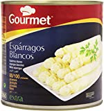 Gourmet Espárragos Blancos Gruesos 80/100 unidades. Peso neto 2.5 kg