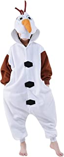 Halloween Unisex Animal Pyjamas Child Cosplay Costume Olaf