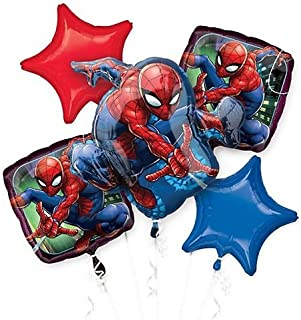 Anagram 26337 Spider-Man Ultimate Birthday Foil Balloon 18 Multicolored