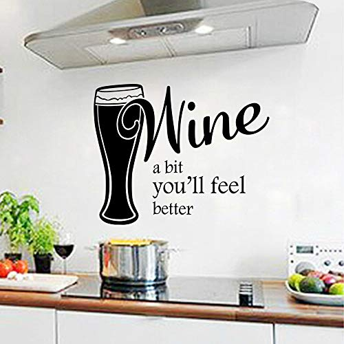 Ein wenig Wein, Sie werden sich besser...