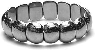 [Amazon限定ブランド] Beautéller テラヘルツ 約19mm×15mm バングル テラヘルツ鉱石 ブレスレット【約18cm】