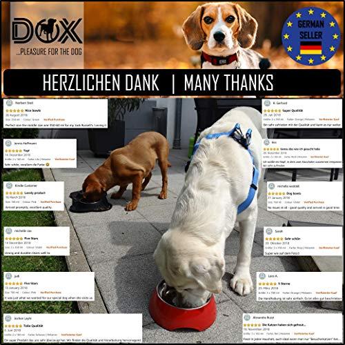 Fressnapf, Melamin-Napf 160 ml, 350 ml, 700 ml verschiedene Farben: Melamin-Napf, Edelstahl-Napf, Futternapf, robust, spuelmaschinenfest, stoss- und kratzfest, rutschfest, Edelstahlnapf herausnehmbar fuer Welpen, Hunde, Katzen by DDOXX Farbe Gelb, Größe 160 ml - 8