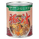 アイリスオーヤマ 1号缶 豚汁 3000g 非常食 保存食 長期保存 3年