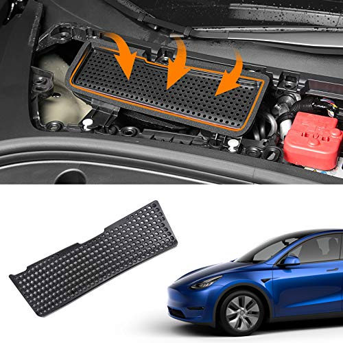 Bomely Fit 2021 Tesla Model 3 Air Intake Grille Protection Cover For Tesla Model 3 Accessories