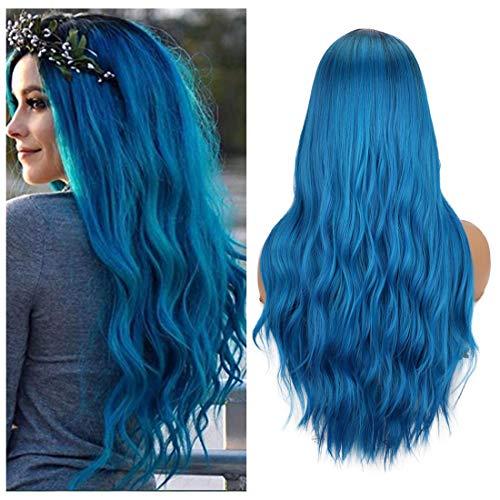 comprar pelucas mujer azul pastel