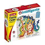 Quercetti- Fanta Color Modular 4 Gioco Creativo con Chiodini, Multicolore, 0880
