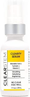 CLEARITY by CLEARSTEM - Exfoliating Serum with AHA and Mandelic Acid, Anti-Aging, Retexturizes, Reduce Scars, Anti-Acne, B...