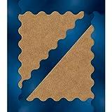 Carson Dellosa - Sparkle + Shine Royal Blue Foil Scalloped Borders, Classroom Décor, 13 Strips