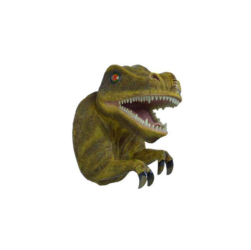 "Jurassic Dinosaur Tyrannosaurus Rex Large 13/""H Hanging Wall Decor Figurine"