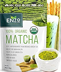 enzo's private selection matcha