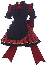 My Hero Academia Cosplay Toga Himiko Cosplay Costume Cafe Maid Dress Halloween Costume Full Set