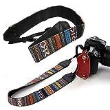 SODIAL(R) Correa de Hombro Cuello de Camara para DSLR Nikon Canon Sony Panasonic