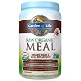 Garden of Life Meal Replacement Chocolate Powder, 28 Servings, Organic Raw Plant Based Protein...