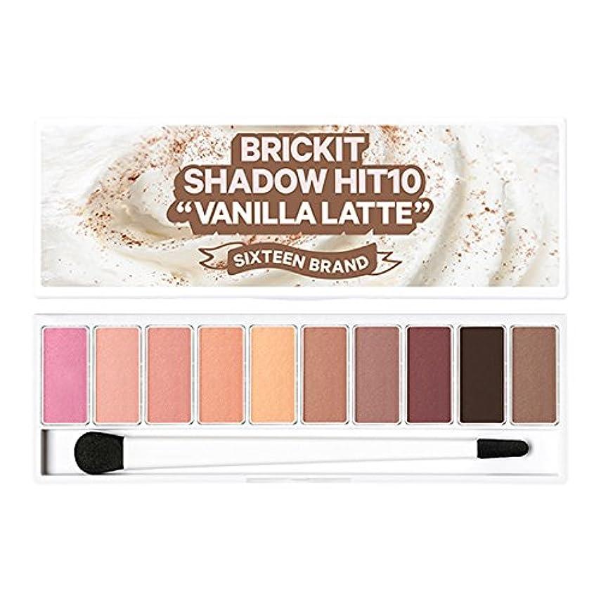感染するスリチンモイアレルギー性16brand Sixteen Brickit Shadow Hit 10 Vanilla Latte 10g/16ブランド シックスティーン ブリックキット シャドウ ヒット 10 バニララテ 10g [並行輸入品]
