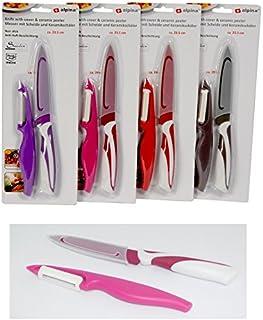 Couteau + éplucheur économe en céramique Ustensile Cuisine Aléatoire - 680