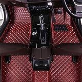 Alfombrillas En Cuero Coche Alfombra Para Ford Focus 2019(RHD), Antideslizantes Delanteras Traseros Esteras Moqueta Auto Accesorios Todo Clima Moquetas Impermeables Set
