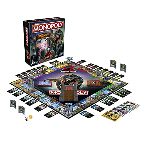 Monopoly Jurassic Park - Jeu de Societe de Plateau