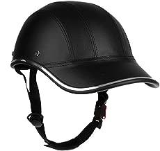 BERGORT Bicycle Helmet Men Women Teenager Adjustable Adult Cycling Helmet Half Open Face Helmet Retro Head Protect Helmet