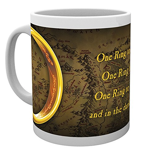 GB Eye LTD, Le Seigneur des Anneaux, One Ring, Tasse