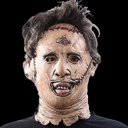 Dodom Die Texas Chainsaw Massacre Leatherface Masken Scary Movie Cosplay Halloween Kostüm Requisiten Hohe Qualität Spielzeug Party Latex Maske