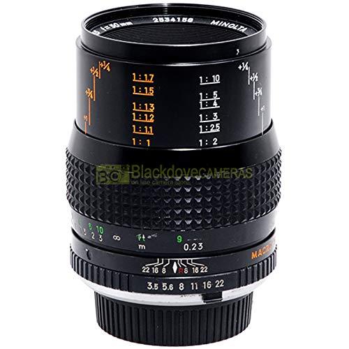 Minolta MC MAcro Rokkor Objektiv 50 mm f3,5 für Spiegelreflexkameras