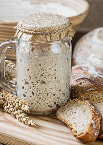 Lake District – Levain Kombuchaorganic® certifiée bio pour tous les types de farine, levure naturelle très puissante et maturée pour la fabrication de pain naturel