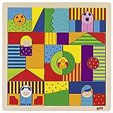 Goki 3DPuzzles con marcoGOKIJuego de Puzzle, Granja, Multicolor (Gollnest & Kiesel 58659.0)