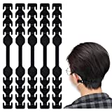 Mask Extender 30 PCS Black TOOVREN Face Mask Extender Strap for Reducing Ear Pain, Anti-Slip Mask...