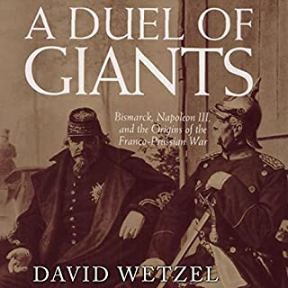 A Duel of Giants audiobook cover art