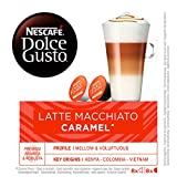 NESCAFÉ Dolce Gusto Latte Macchiato Caramel | Cápsulas de Café - 16 cápsulas de café