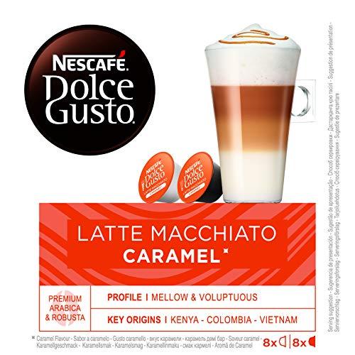 Nescafé Dolce Gusto Latte Macchiato Caramel 16St Kapseln