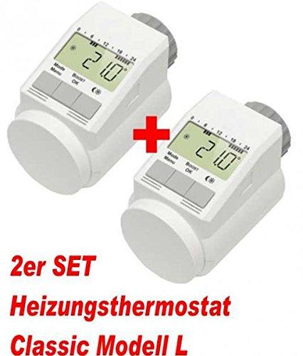 2er Set - Heizkörperthermostat