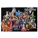 Dervom Kingdom Hearts Anime - Puzzle de 1000 piezas para adultos (1000 piezas)