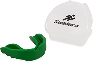 Suddora Mouth Guard - Custom Fit for Adult/Youth (BPA Free) - Karate, MMA, BJJ, Martial Arts, Flag Football, Rugby, Boxing, Hockey
