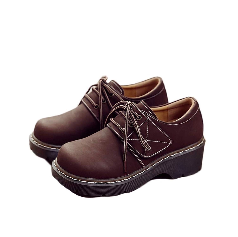 シューズ オックスフォードシューズ ローヒール スムース レースアップシューズ 婦人 靴 レディース 厚底 太ヒール シューズ オックスフォードシューズ ローヒール 大きいサイズ 25cm 本革 22.5cm 立ち仕事靴 通勤 オフィス