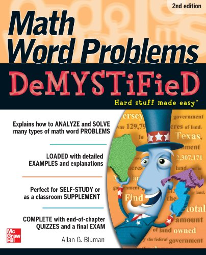 Math Word Problems Demystified 2/E (English Edition)