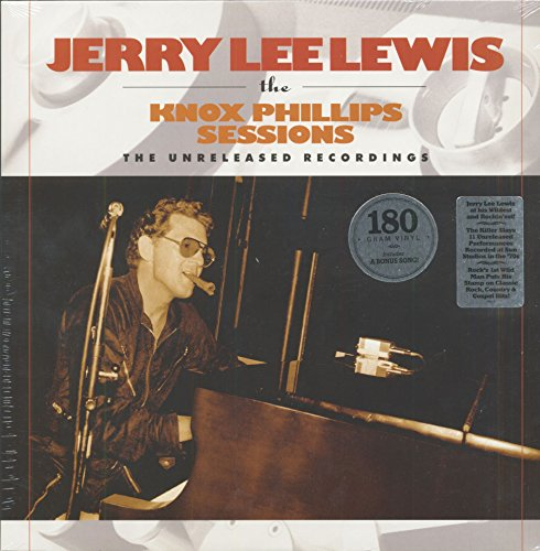 LEWIS, JERRY LEE - KNOX PHILLIPS SESSIONS: THE UNRELEASED RECORDINGS (LP) (1 LP)