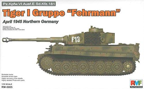 Rye Field Model RM Kit de 5005 – Modélisme Tiger i Groupe, Fehr Homme Avril 1945